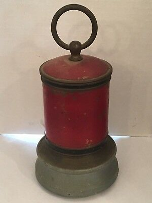 Vintage LADOR Music Box Novelty Match Dispenser