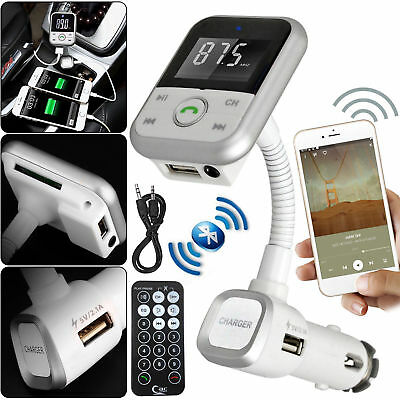 KFZ FM Transmitter MP3 Player Bluetooth Auto Freisprechanlage Car USB SD AUX