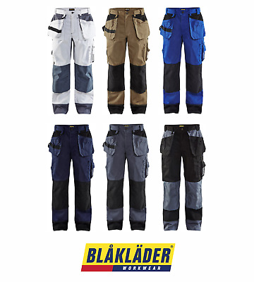 Blaklader 1503 Polycotton Work Trousers Multipockets Cordura Kneepad Pockets