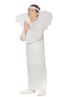 Angel Gabriel Boys Girls Childrens Child Christmas Nativity Fancy Dress Costume