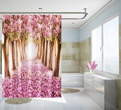 Curtains, Drapes & Valances 3d Sun Snow Woods 7 Shower Curtain Waterproof Fiber Bathroom Home Windows Toilet Home & Garden