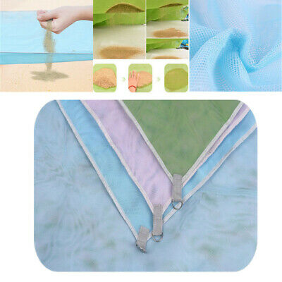 200 X 200cm Beach Mat Sand Free Magic Mat Beach Sandless Foldable Outdoor Waterproof Blanket Camping Picnic Folding Mat Sports & Entertainment