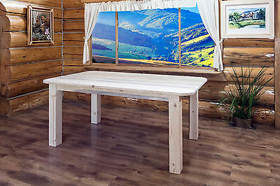 Farmhouse Dining Room Table 6 Ft Amish Made Rustic Tables Lodge