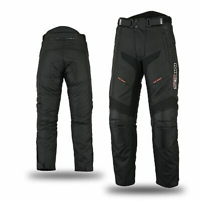 Motorcycle Bike Scooter Touring Warm/Breathable Protective Trouser Pant Black