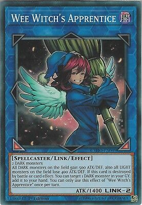 Yu-Gi-Oh: WEE WITCH'S APPRENTICE - CYHO-EN049 - Super Rare Card - 1st Edition