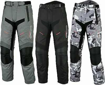 MBSmoto MP-51 ROADER MOTORCYCLE MOTORBIKE SCOOTER TOURING BLACK & CAMO TROUSER