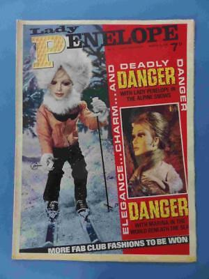Lady Penelope 9 1966 Gerry Anderson Thunderbirds! Lovely! Very Rare!!