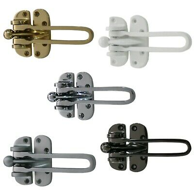 Door Guard Restrictor Strong Heavy Duty Security Catch Chain