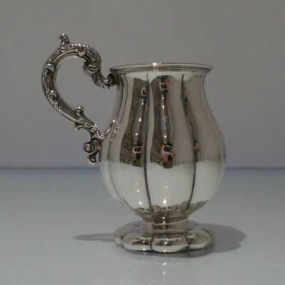 Early 19th Century Antique Victorian Sterling Silver Christening Mug London 1837