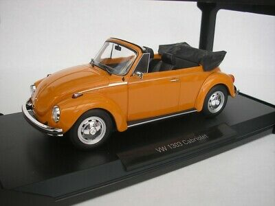 VW Käfer Beetle 1303 Cabriolet 1972-75 orange 1:18 Norev