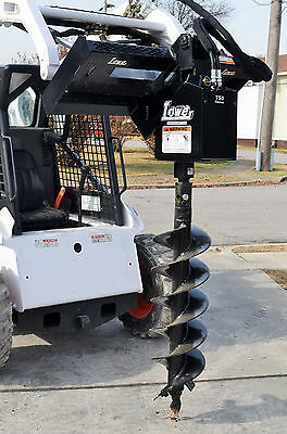 """Bobcat Skid Steer Attachment Lowe 750 Hex Auger Drive with 12"""" Bit - Ship $199"""