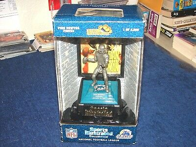 Dan Marino Miami Dolphins Sports Illustrated Pewter Statue New In Box (M18-2)
