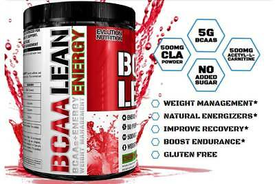 Evlution Nutrition BCAA Lean Energy - Energy + Weight Management  Cherry & Lime