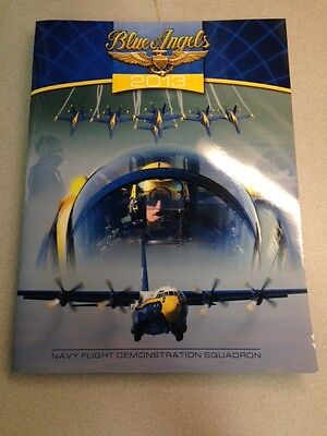 Authentic Official Navy Blue Angels 2013 Year Book  Mint New