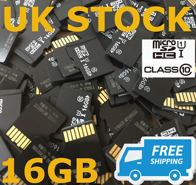 1 x Generic/Unbranded 16GB Micro SD HC Card - Fully Tested and Wiped UK - CHEAP