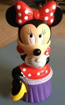 Disney Applause Minnie Mouse Piggy Bank, Minnie Piggy Coin Bank 9""