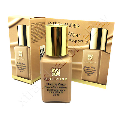 ESTEE LAUDER Double Wear FOUNDATION 3N1 Ivory Beige 15ml NEW & BOXED Travel Size