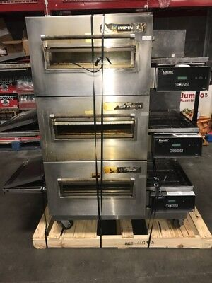 Commercial Pizza Oven Lincoln Impinger 1132-000-U Triple