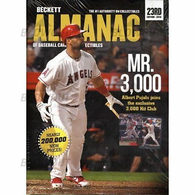 2018 Beckett Almanac Baseball Cards Collectibles Edition 23 Qty Free Ship