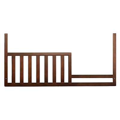 Baby Cache' Hudson Collection Guard Rail w. Expresso Finish  New! Free Shipping!