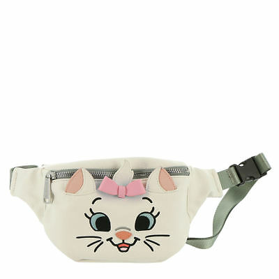 Loungefly Disney Marie Aristocats Fanny Pack White/Pink