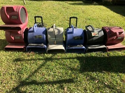 7 x carpet air blower dryers commercial portable