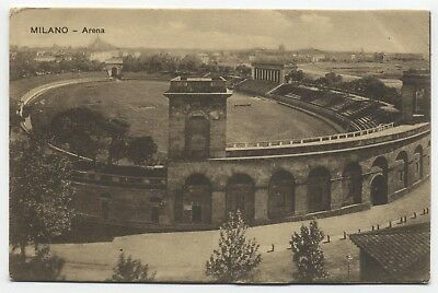 ITALY ~ The Arena MILAN Lombardy Region c1908 Postcard