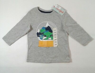 11d372e55f Boys Toddler Cat & Jack Long Sleeve Holiday Graphic Shirt Size 18 Months  (3331)
