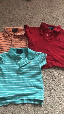 Lot of POLO by RALPH LAUREN S/S Polo Shirts BOYS 18 Months