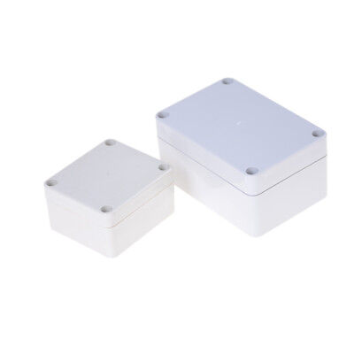 Waterproof Plastic Enclosure Box Electronic Project Instrument Case UK.