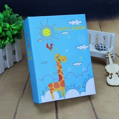 6 Inch 50 Sheets Newborn Baby Kid Gift Cartoon Print Growth Record Photo Album