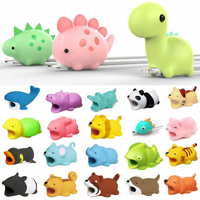 Cute Dream Cable Bite for Iphone Cable cord Animal Phone Accessory Protector YA