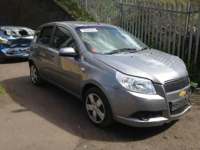 Chevrolet Aveo 2010 Petrol 12 Grey 5dr Breaking For Parts 1000