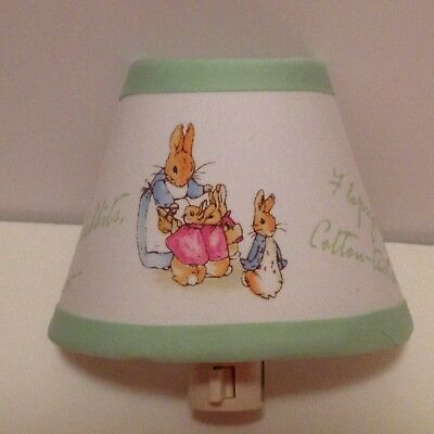 Peter Rabbit Fabric Nursery Nightlight M2M Pottery Barn Kid Bedding