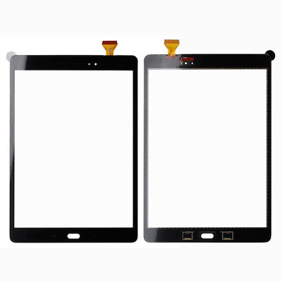 For Samsung Galaxy Tab A 9.7 Front Touch Screen Digitizer Glass Black T550 T555