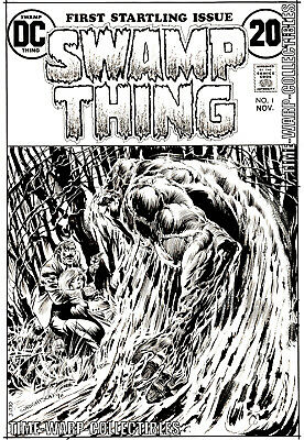 Swamp Thing #1 Bernie Wrightson High Resolution Cover Art Reproduction Print
