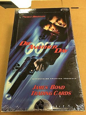 2002 Rittenhouse James Bond Die Another Day Factory Sealed Box New Unopened Auto