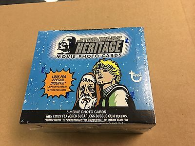 2004 Topps Heritage Star Wars Movie Box Factory Sealed Unopened 24 Packs
