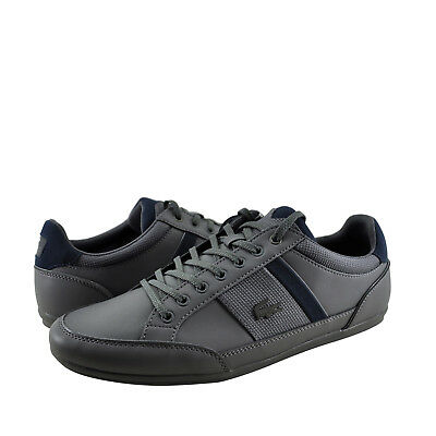 a5b4886c0 Mens Shoes Lacoste Chaymon 318 Fashion Sneaker 36CAM0008G1N DARK GREY NAVY   New