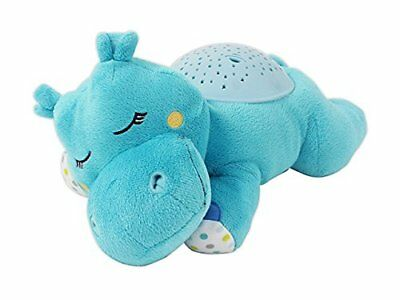 NEW Summer Infant Slumber Buddies Projection and Melodies Soother Dozing Hippo