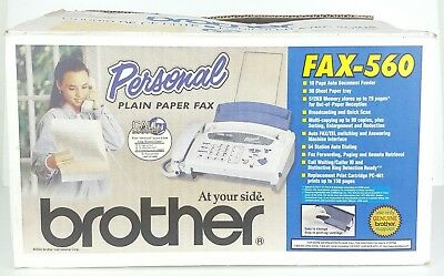 BRAND NEW Brother Fax-560 Fax Machine