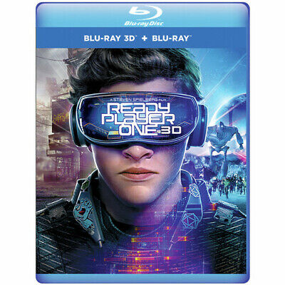 Ready Player One [New Blu-ray 3D] Manufactured On Demand, With Blu-Ray, 2 Pack