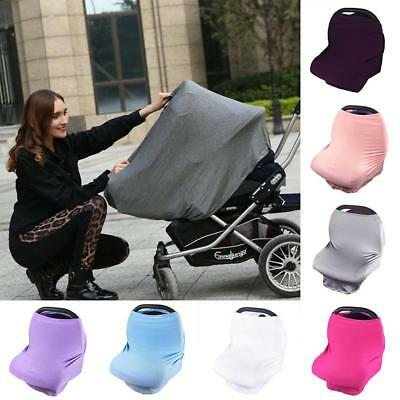 Multi-Use Stretchy Infant Nursing Cover Baby Car Seat Canopy Cart Cover Fashion