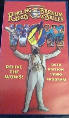 CIRCUS VHS TAPE, RINGLING BROS AND BARNUM BAILEY 129th Edition