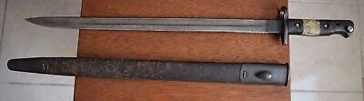 British Enfield 1907 Bayonet with Scabbard