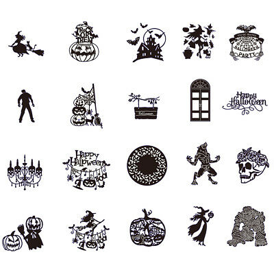Halloween Cutting Dies DIY Scrapbook Stencil Cut Die Embossing Paper Cards Mold