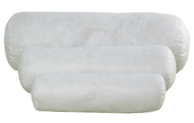 100/% Cotton Luxury Duck Feather /& Down Long Extra Filled Bolster Pillow All Size
