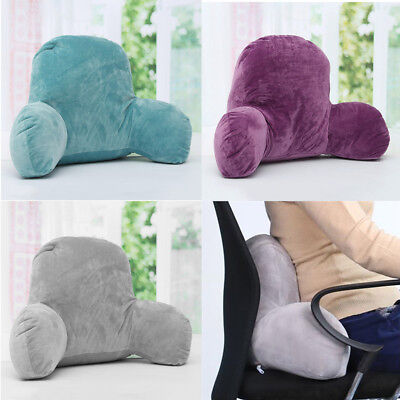 Lounger Back Pillow Rest Support Sleep Backrest Lumbar Cushion Office