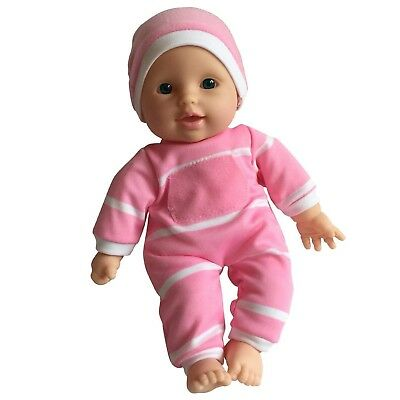 "11 Inch Soft Body Vinyl Doll in Gift Box - 11"" Baby Doll (Caucasian) for Girls"