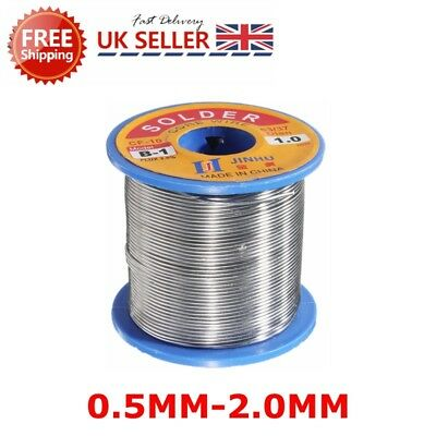 300g 63/37 Tin Lead Solder Iron Wire Roll Rosin Core Soldering 2% Flux Reel Tube